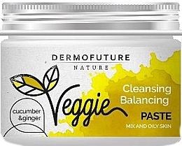 Духи, Парфюмерия, косметика Паста для жирной кожи лица - DermoFuture Ginger & Cucumber Pasta
