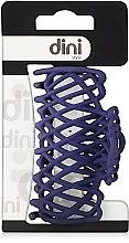 """Духи, Парфюмерия, косметика Крабик для волос """"Плетеный мини"""", d-675, фиолетовый - Dini Matte Style"""