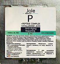 Духи, Парфюмерия, косметика Омолаживающая сыворотка с гиалуроновой кислотой и комплексом пептидов - Jole Peptide Anti-Aging Serum (пробник)