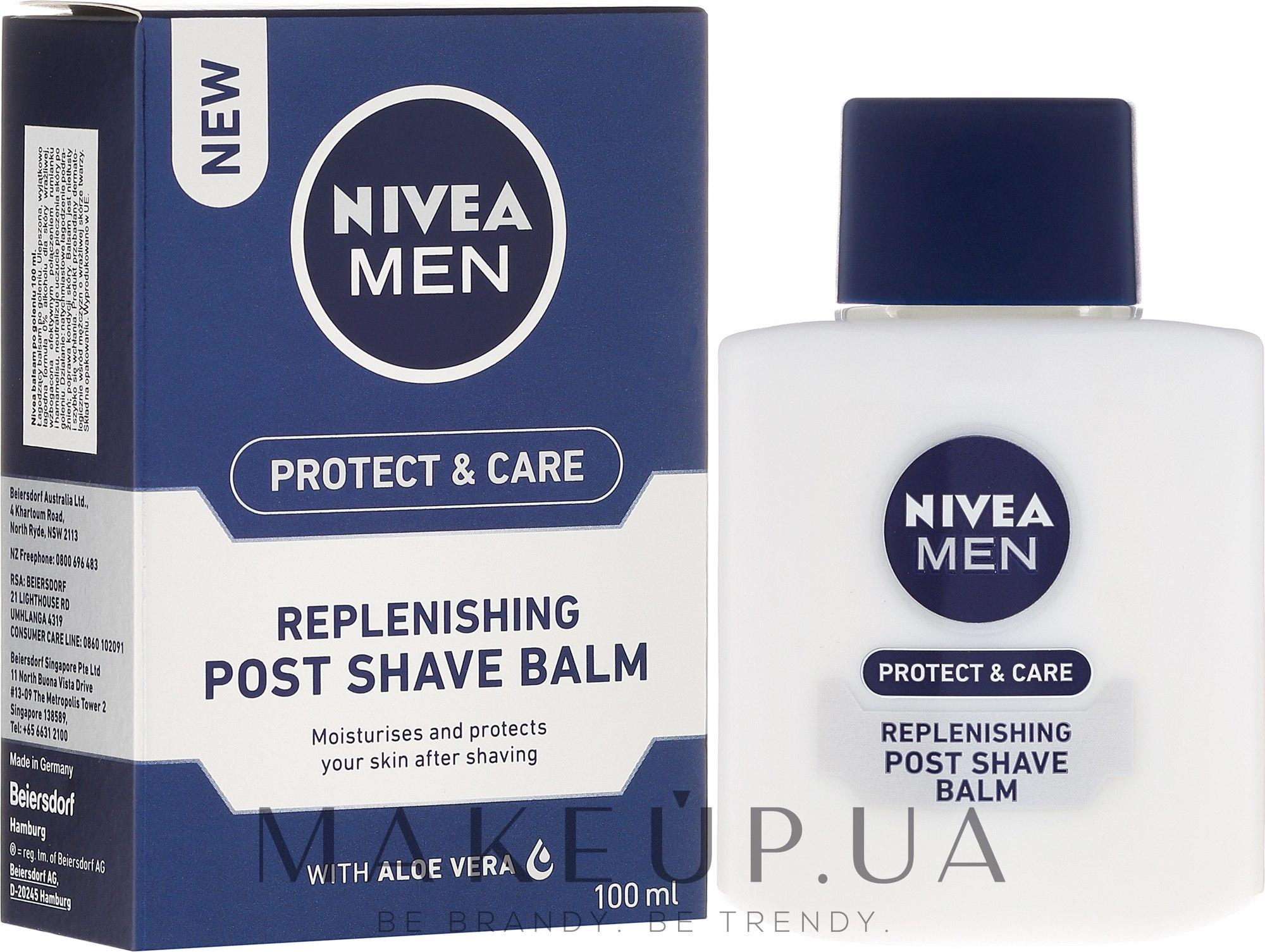 Восстанавливающий бальзам после бритья - Nivea For Men Replenishing After Shaving Balm — фото 100ml