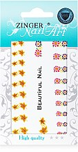 Духи, Парфюмерия, косметика Наклейки для дизайна ногтей, fda-2 - Zinger Nail Art Sticker 102