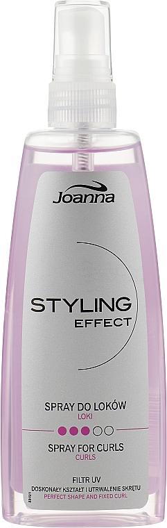 Спрей для укладки вьющихся волос - Joanna Styling Effect Curly Spray