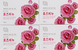 "Духи, Парфюмерия, косметика Мыло для лица и тела ""Роза"" - Mukunghwa Rose Soap"
