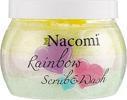 Духи, Парфюмерия, косметика Скраб для тела с ароматом арбуза - Nacomi Rainbow Scrub & Wash