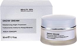 Духи, Парфюмерия, косметика Восстанавливающий антивозрастной себум-баланс - Beauty Spa Snow Cream