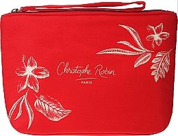 Духи, Парфюмерия, косметика Набор - Christophe Robin Regenerating Travel Kit (shm/75ml + balm/50ml + mask/50ml + bag)
