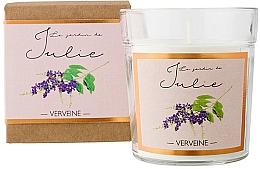 "Духи, Парфюмерия, косметика Ароматическая свеча ""Вербена"" - Ambientair Le Jardin de Julie Verveine"