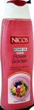 """Духи, Парфюмерия, косметика Гель для душа """"Цветущий сад"""" - Nicos Shower Gel Flower Garden"""