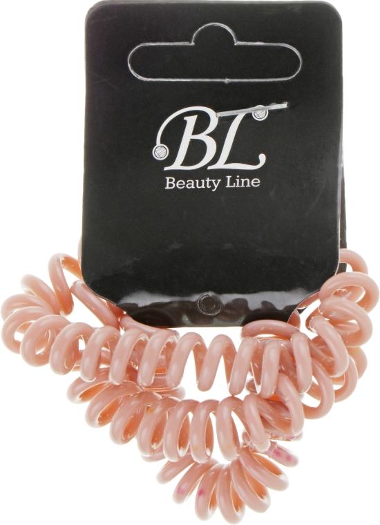 Набор резинок для волос, 405004, бежевая+бежевая+бежевая - Beauty Line