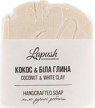 """Духи, Парфюмерия, косметика Натуральное мыло """"Кокос и белая глина"""" - Lapush"""