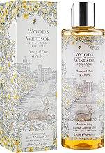 Духи, Парфюмерия, косметика Гель для душа и ванны - Woods of Windsor Bath and Shower Gel