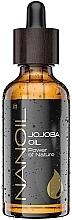 Духи, Парфюмерия, косметика Масло жожоба - Nanoil Body Face and Hair Jojoba Oil