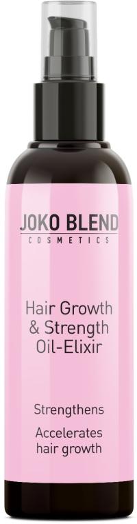 Масло-эликсир для роста волос - Joko Blend Hair Growth & Strength Oil