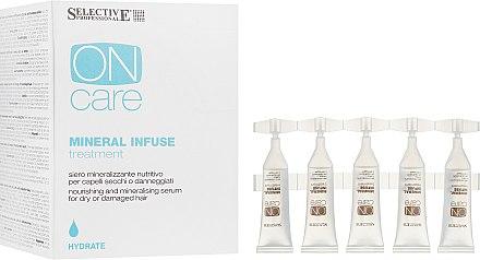Минеральное масло для сухих и поврежденных волос - Selective Professional On Care Mineral Infuse Treatment