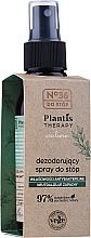 Парфумерія, косметика Дезодорант-спрей для ніг - Pharma CF No.36 Plantis Therapy Foot Spray