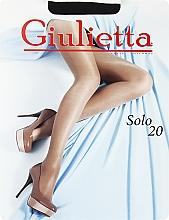 "Духи, Парфюмерия, косметика Колготки для женщин ""Solo"" 20 den, nero - Giulietta"