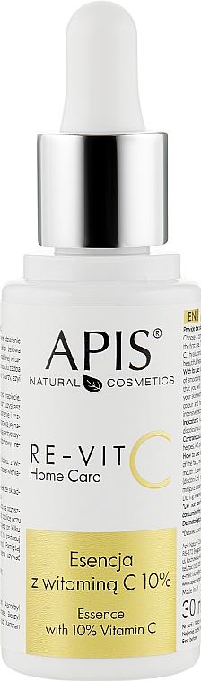 Эссенция с витамином С 10% - APIS Professional Re-Vit C Home Care