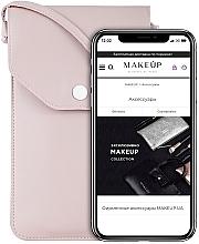 """Духи, Парфюмерия, косметика Чехол-сумка для телефона на ремешке, пудровый """"Cross"""" - Makeup Phone Case Crossbody Powder"""
