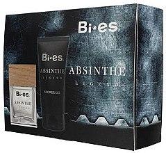 Духи, Парфюмерия, косметика Bi-Es Absinthe Legend - Набор (edt/100ml + sh/gel/150ml)