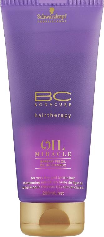 Восстанавливающий шампунь с маслом и кератином - Schwarzkopf Professional Bonacure Oil & Micro Keratin Shampoo