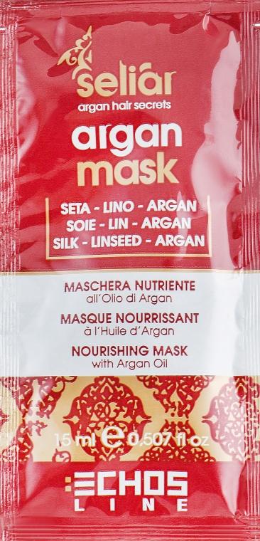 Маска с аргановым маслом - Echosline Seliar (пробник)