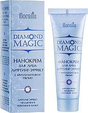 Духи, Парфюмерия, косметика Нанокрем для лица лифтинг-эффект с бриллиантовой пылью - Floralis Diamond Magic Cream