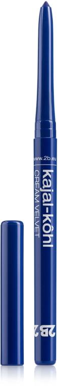 Карандаш для глаз автоматический - 2B Kajal Cream Velvet Eyeliner