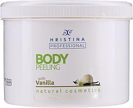 """Духи, Парфюмерия, косметика Скраб для тела """"Ваниль"""" - Hristina Professional Vanilla Body Peeling"""