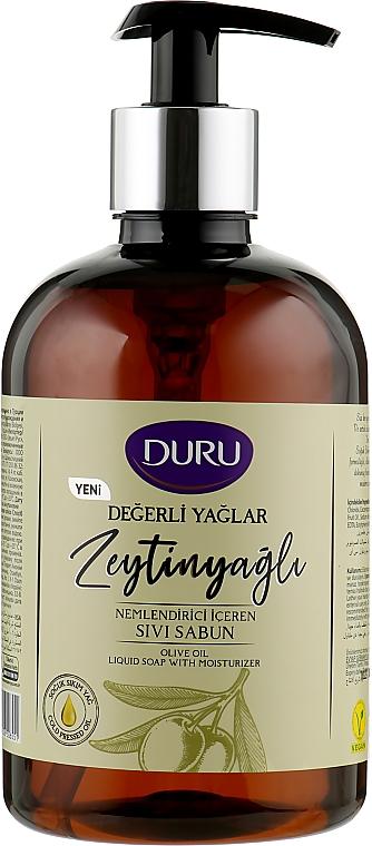 Жидкое мыло с оливковым маслом - Duru Precious Oils Olive Oil Liquid Soap