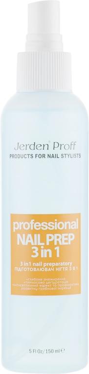 Подготовитель ногтя 3 в 1 - Jerden Proff Nail Prep