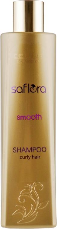 Шампунь для выпрямления волос - Demira Professional Saflora Smooth