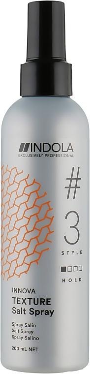Солевой спрей для волос - Indola Innova Texture Salt Spray