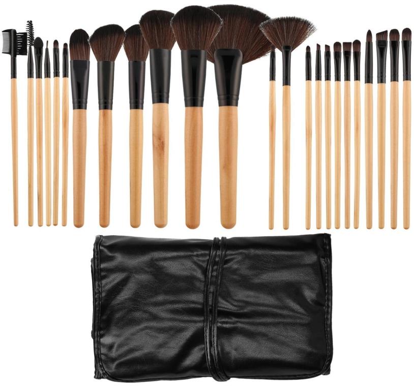Набор профессиональных кистей для макияжа, 24 шт - Tools For Beauty