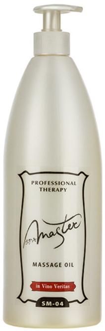 Массажное масло с маслом виноградных косточек - Spa Master Professional In Vino Veritas Massage Oil