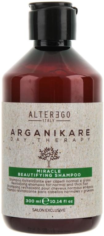 Восстанавливающий шампунь для нормальных и густых волос - Alter Ego Arganikare Miracle Beautifying Shampoo