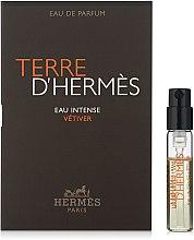 Духи, Парфюмерия, косметика Hermes Terre d'Hermes Eau Intense Vetiver - Парфюмированная вода (пробник)