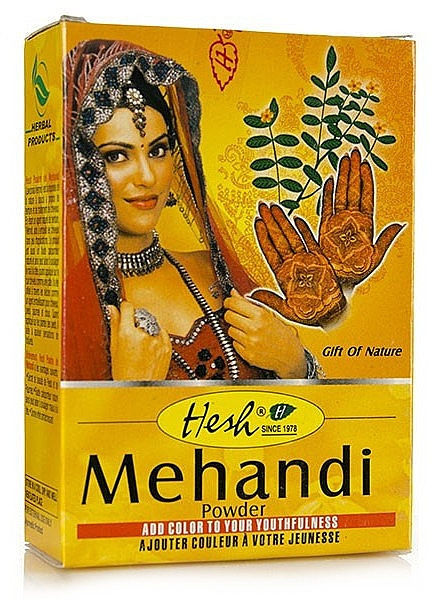 Порошок-хна для волос - Hesh Mehandi Powder
