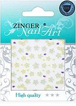 Духи, Парфюмерия, косметика Наклейки для дизайна ногтей, fda-213 - Zinger Nail Art Sticker