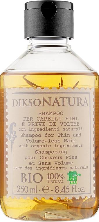 Шампунь для тонких и лишенных объема волос с экстрактом красной ели - Dikson Natura Shampoo Volume