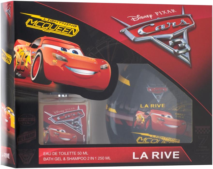 La Rive Cars - Детский подарочный набор (edt/50ml + s/g/250ml)
