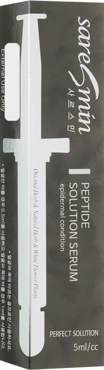 Сыворотка для лица с пептидами - Saresmin Peptide Solution Serum