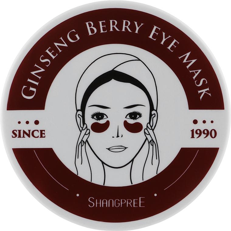 Гидрогелевые патчи с экстрактом женьшеня - Shangpree Ginseng Berry Eye Mask