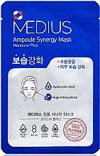 Духи, Парфюмерия, косметика Маска для лица увлажняющая - Medius Ampoule Synergy Mask Moisture Plus