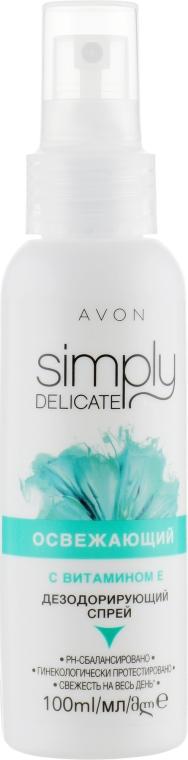 "Дезодорирующий спрей ""Освежающий"" - Avon Simply Delicate"