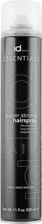 Быстросохнущий суперсильный лак - idHair Super Strong Hair Spray