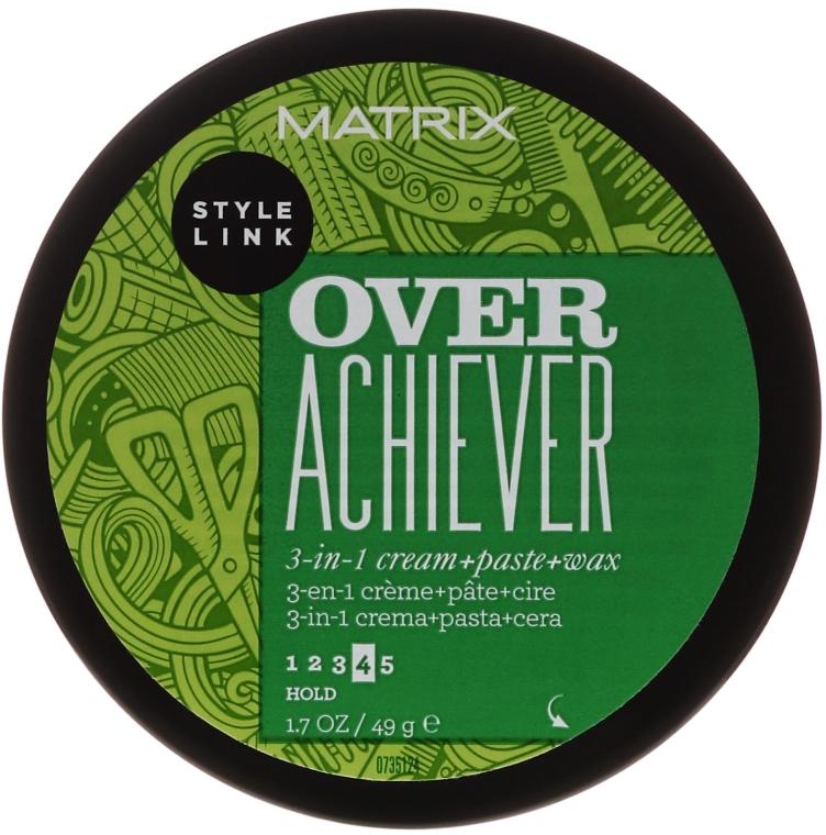 Паста для укладання волосся - Matrix Style Link Over Achiever Paste — фото N3