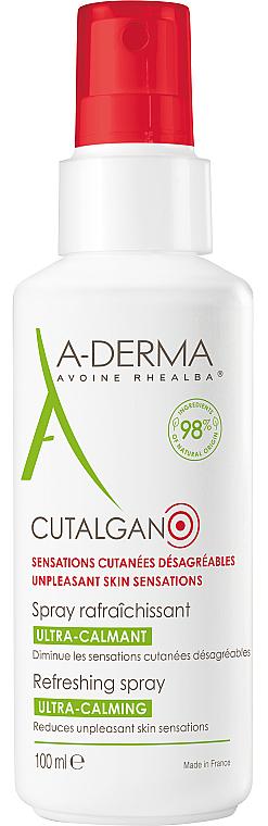 Ультра-успокаивающий освежающий спрей - A-Derma Cutalgan Ultra-Calming Refreshing Spray