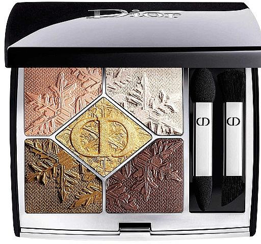 Палетка теней - Dior 5 Couleurs Golden Nights Limited Edition Palette (тестер без коробки)