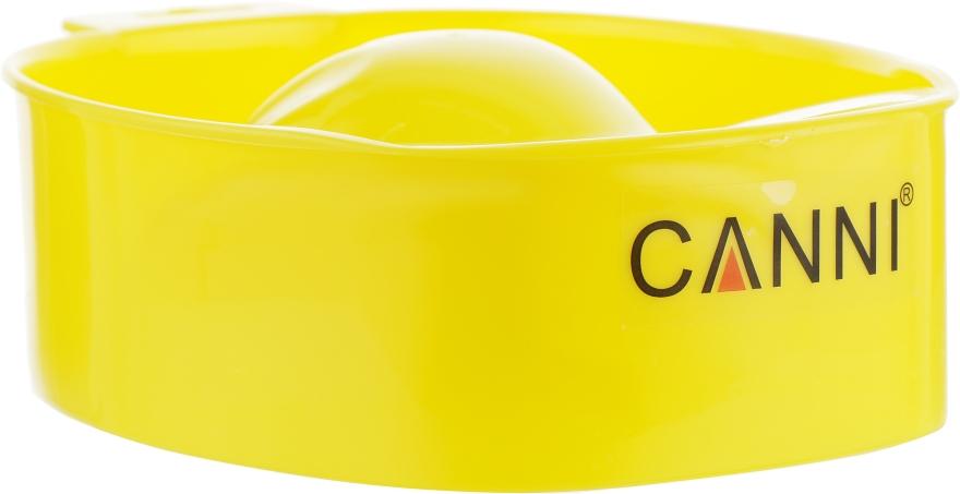 Ванночка для маникюра, желтая - Canni Tray For Manicure