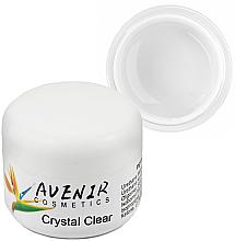 Парфумерія, косметика Гель для нарощування - Avenir Cosmetics Crystal Clear